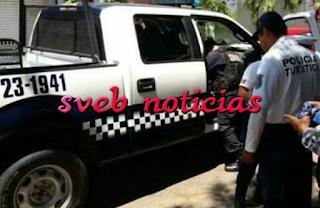 Lo despojan de 20 MIL pesos en Banorte de plaza Las Palmas de Veracruz