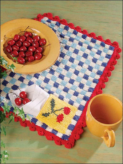 Miss Julias Patterns: Free Patterns - 20+ Placemats & More to Knit &...