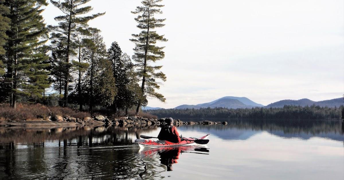 FORKED LAKE canoeing & camping, Adirondack Park, NY.