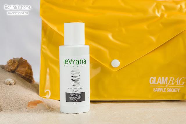 Levrana Черная мицеллярная вода для снятия макияжа (Детокс): отзывы