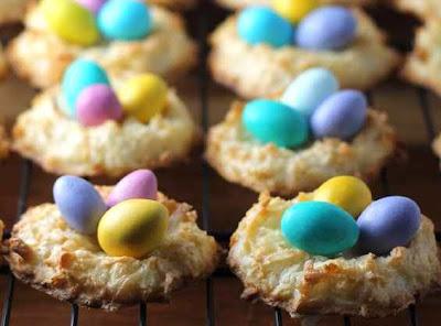 retete dulciuri de paste prajitura cuib de pasare cu nuca de cocos