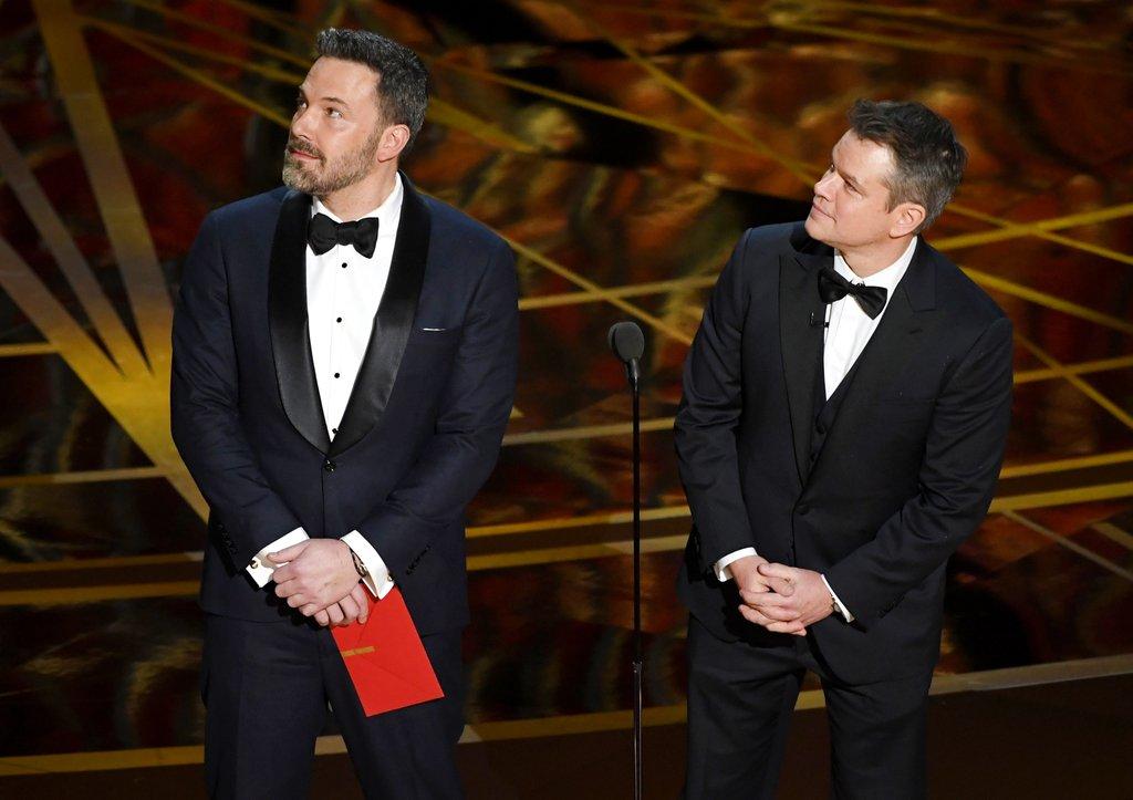 Ben Affleck & Matt Damon Oscars 2017