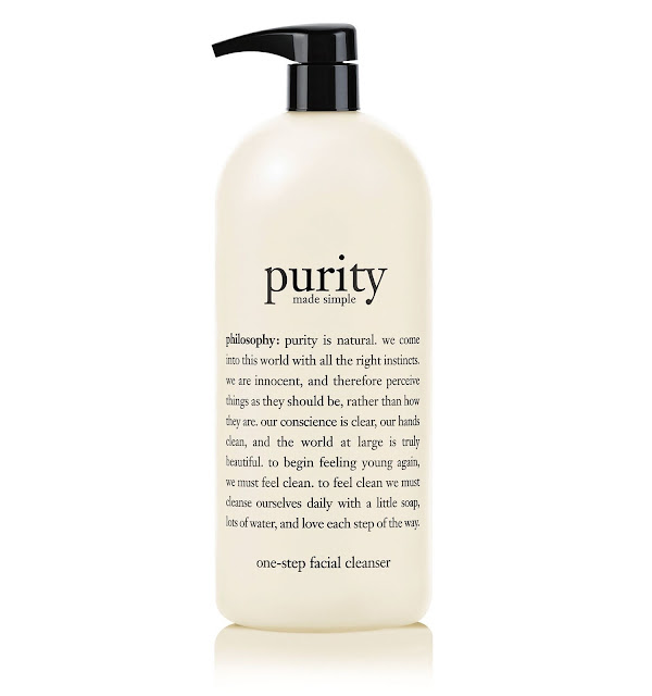 Philosophy Purity Made Simple One Step Facial Cleanser 32oz Value Size Pump