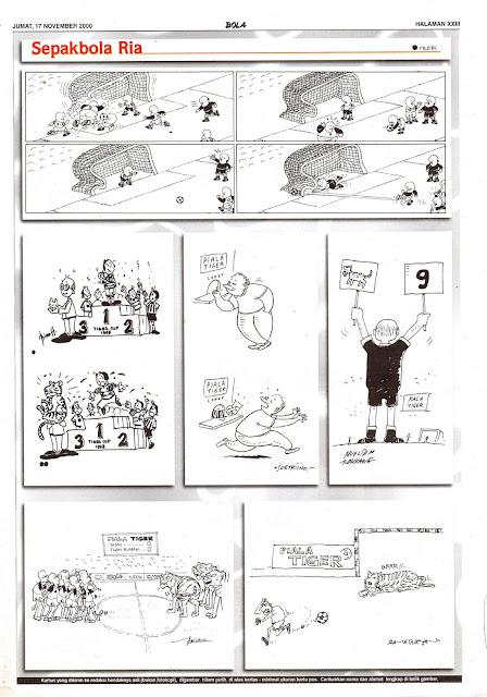 Sepakbola Ria EDISI JUM'AT, 17 NOVEMBER 2000
