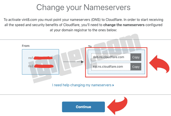 Cloudflare Nameserver