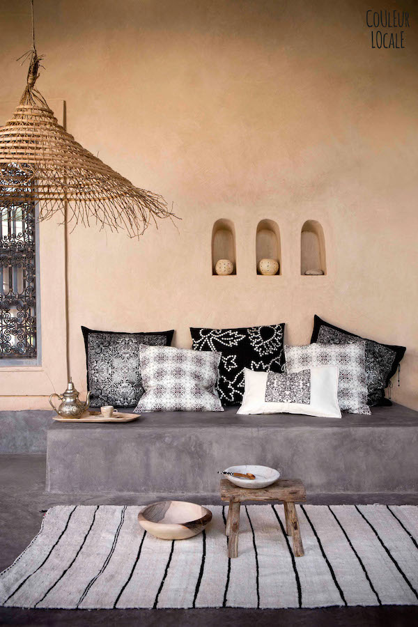 vosgesparis A beautiful Moroccan home decorated by