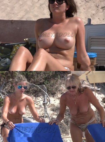 NudeBeach sb14099-14106 (Spy cam video from nude beach)
