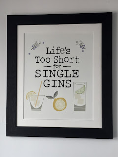 Lifes Too Short for Single Gins Print By Wotmalike