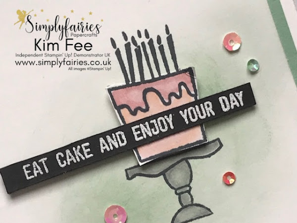 Stampin' Up! with Blow Out The Candles,