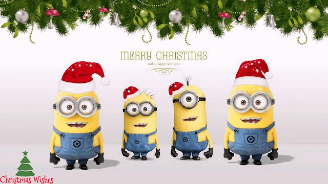 minions christmas,minions christmas wallpaper, merry christmas minions