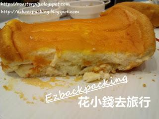 海鹽拖肥牛油厚焗鬆餅配曲奇雪糕