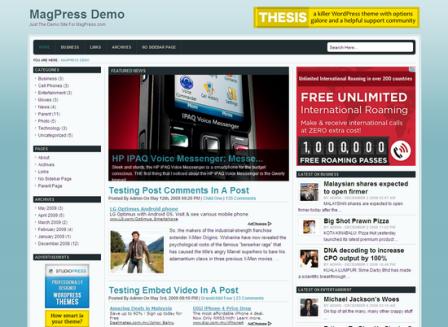 Bemore Free WordPress Theme