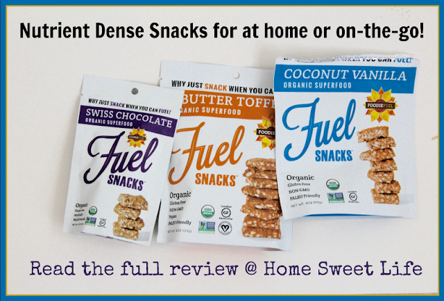 Foodie Fuel, nutrient dense snacks, organic snacks