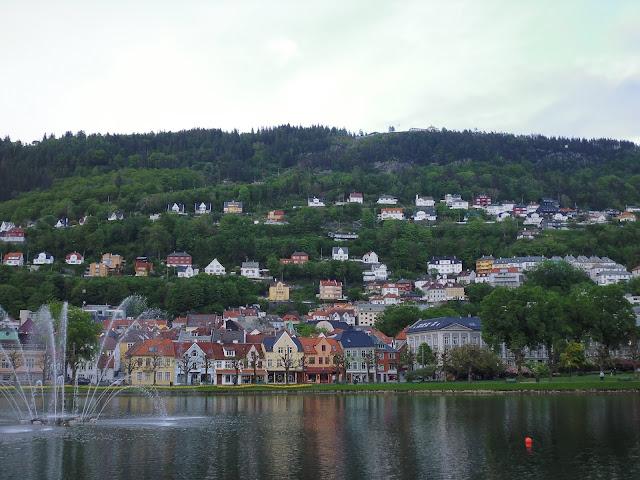 Lago Lille Lungegárdsvann (Bergen)