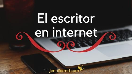 el escritor en internet