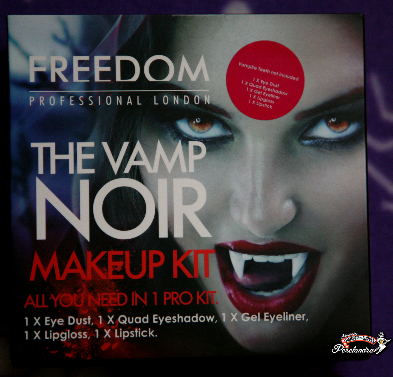 The Vamp Noir Makeup Kit Pamper And Curves