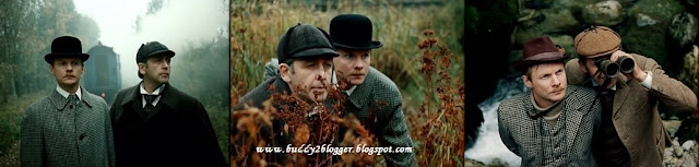 Vasily Livanov and Vitaly Solomin as Sherlock Holmes and Dr John Watson in Mortal Fight (1980)