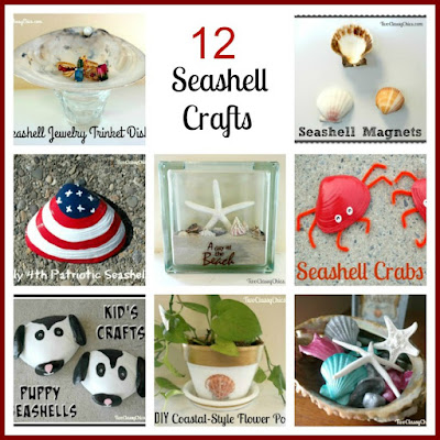 12 Easy-to-Make Seashell Craft Projects