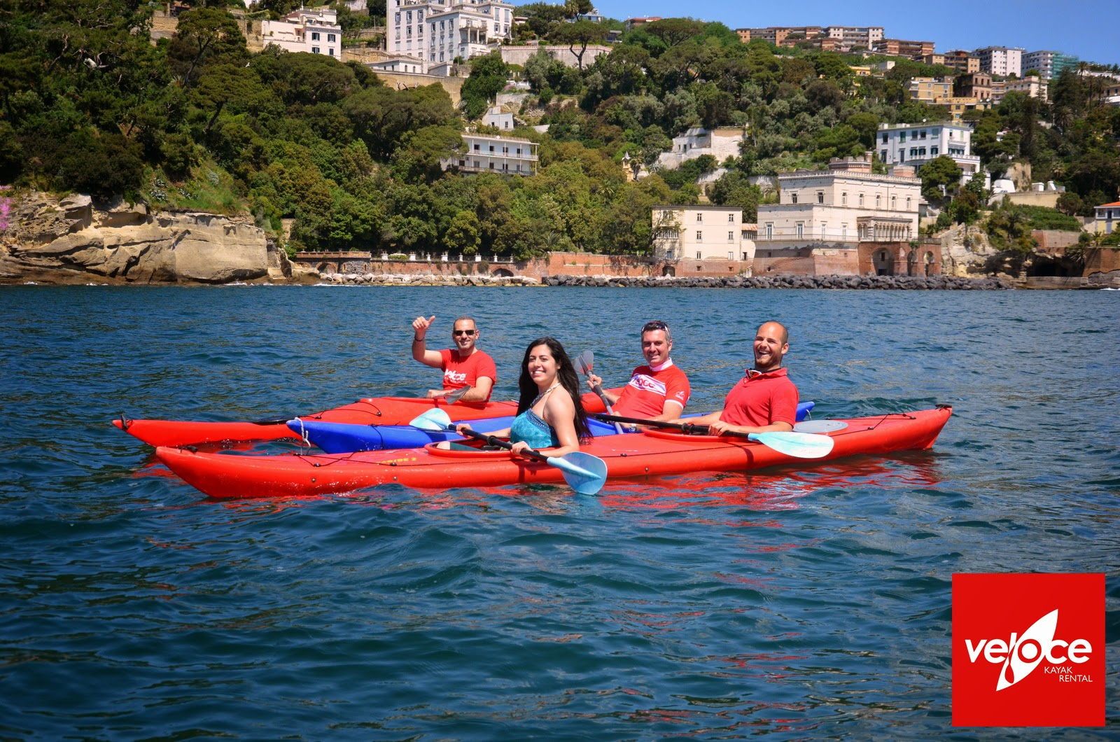 napoli by kayak
