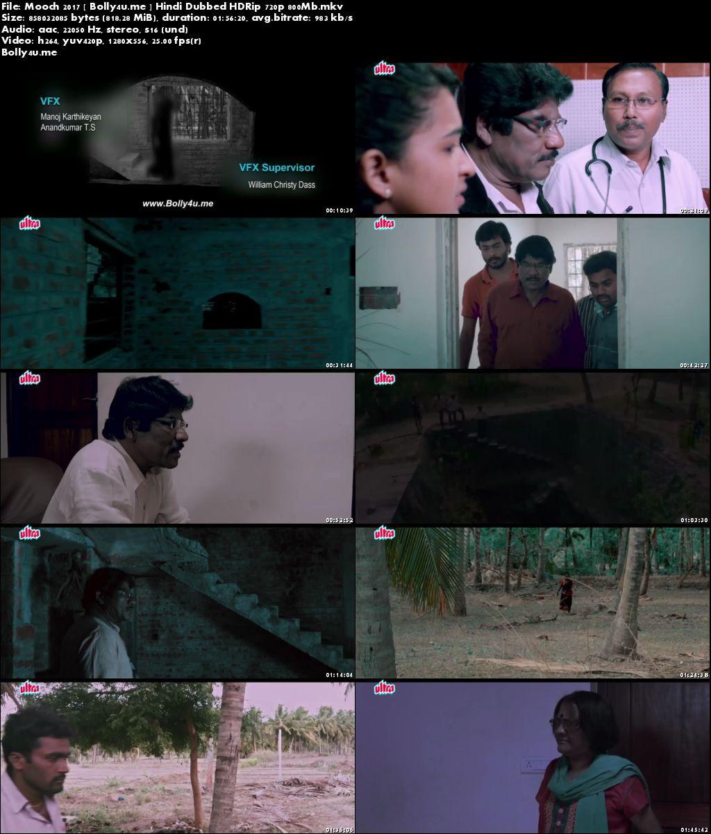 Mooch 2017 HDRip 350MB Hindi Dubbed 480p Download