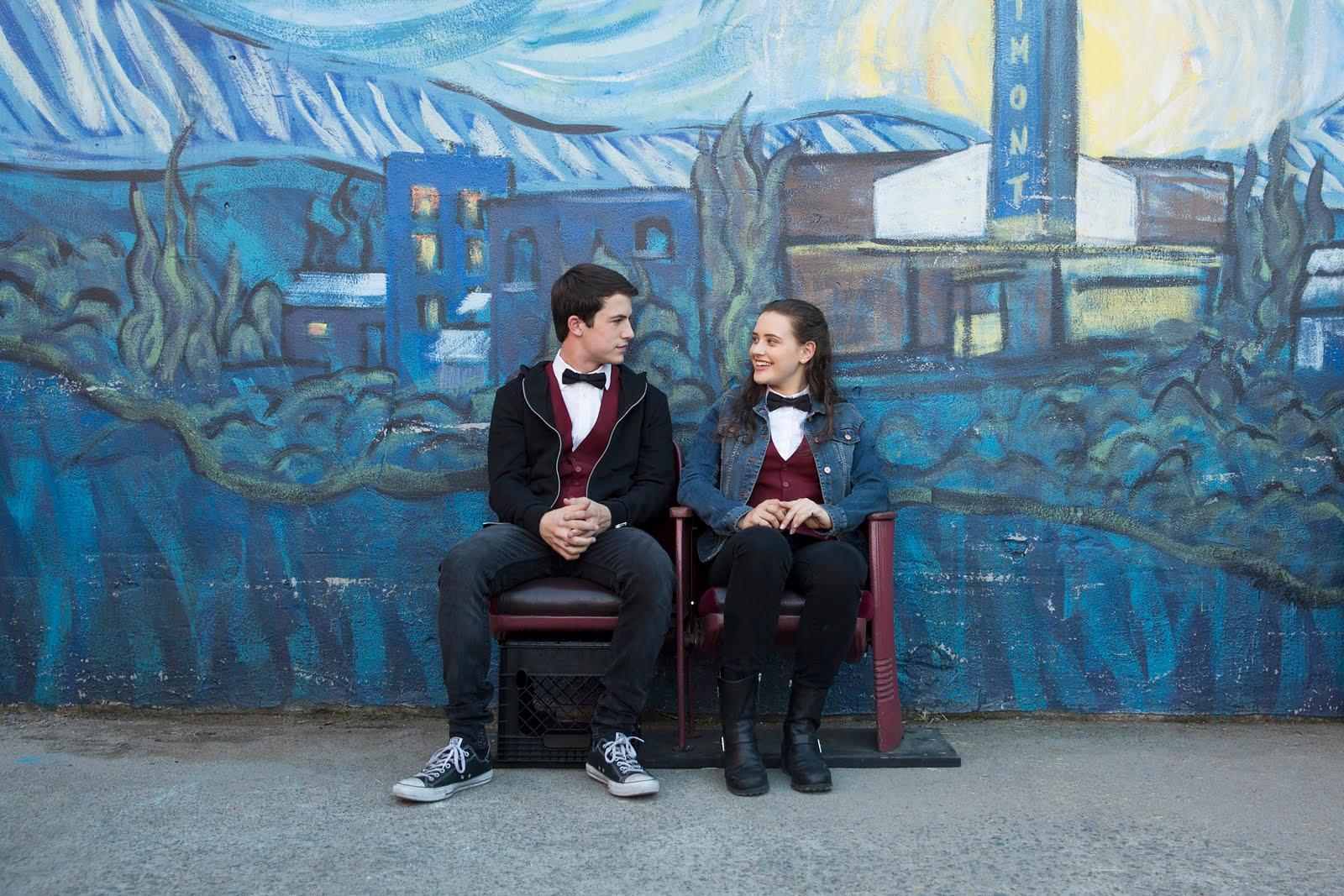 Clay y Hannah, que trabajan en un cine, son los protagonistas de 13 Reasons Why