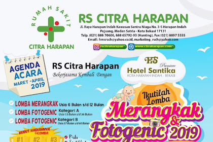 Agenda Acara Maret - April 2019 Di RS Citra Harapan