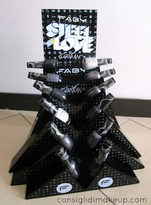 Collezione smalti Steel+Love - Faby & Karim Rashid [tutti gli swatch]