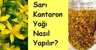 Sarı Kantaron Yağı Nasıl Yapılır