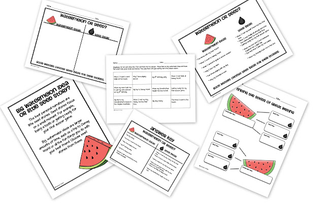 Lipstick, Lattes, and Lesson Plans: Watermelon or Seed