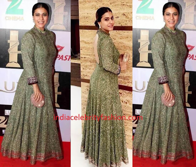 Kajol in Manish Malhotra Gown