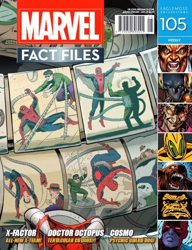 Marvel Fact Files - Spiderman