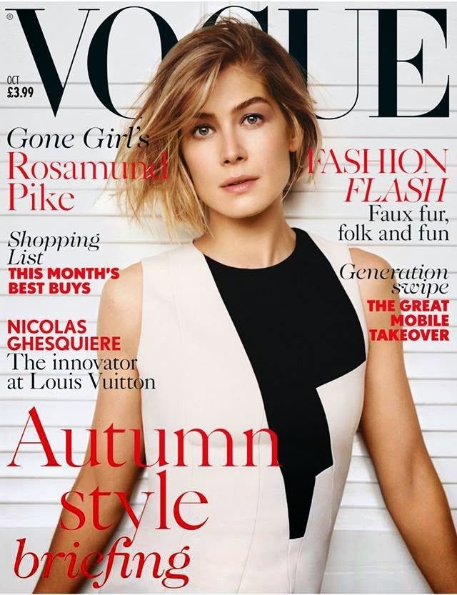Rosamund Pike British Vogue