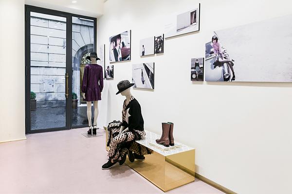 the best attitude a5d31 29d54 Moda Glamour Italia: Kristina Ti: New Opening, a Roma