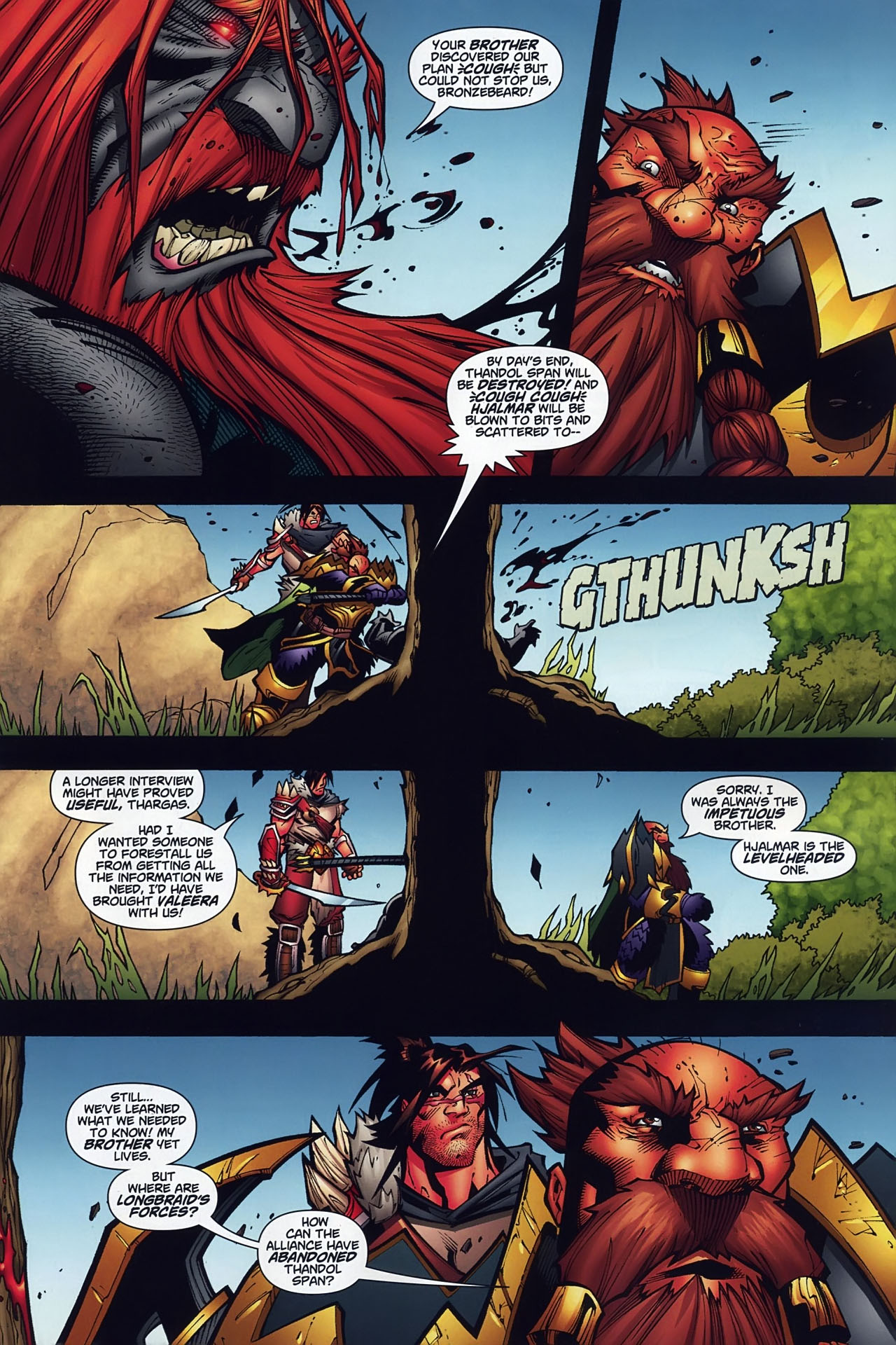 Read online World of Warcraft comic -  Issue #10 - 4