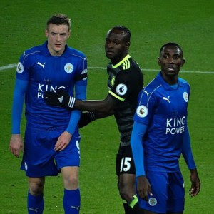 LEICESTER CITY'S WILFRED NDIDI PRAISED BY CRITICS