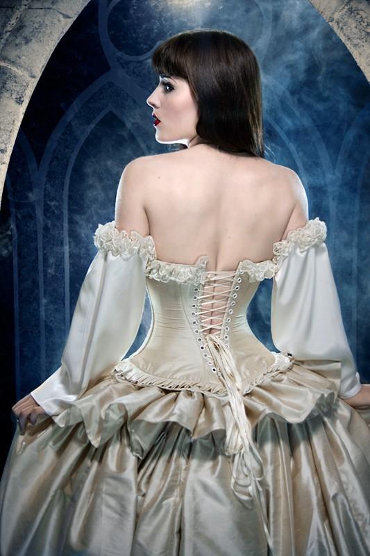 Victorian Fantasy Wedding Dress Handmade Victorian