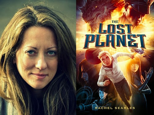 Rachel Searles, author of The Lost Planet