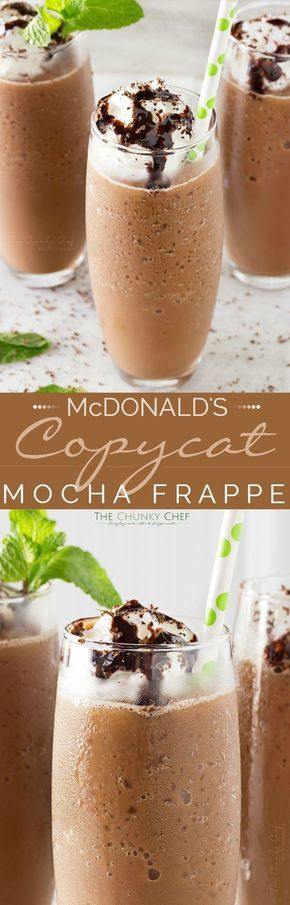 COPYCAT MOCHA FRAPPE #Copycat #Mocha #Frappe #Icemocha #Bestmocha #BEstdrinkrecipe #Bestcofferecipe #Dessert