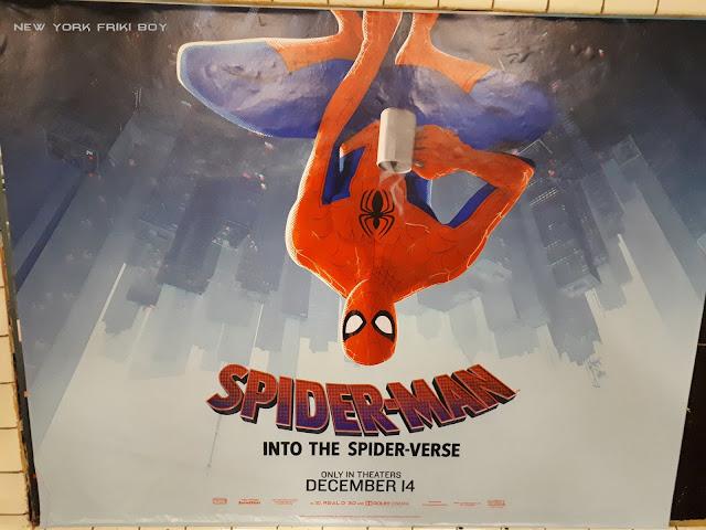 Spider-Man Into the Spider-Verse Peter Parker subway