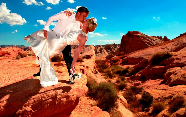 Parque Valley of Fire em Las Vega