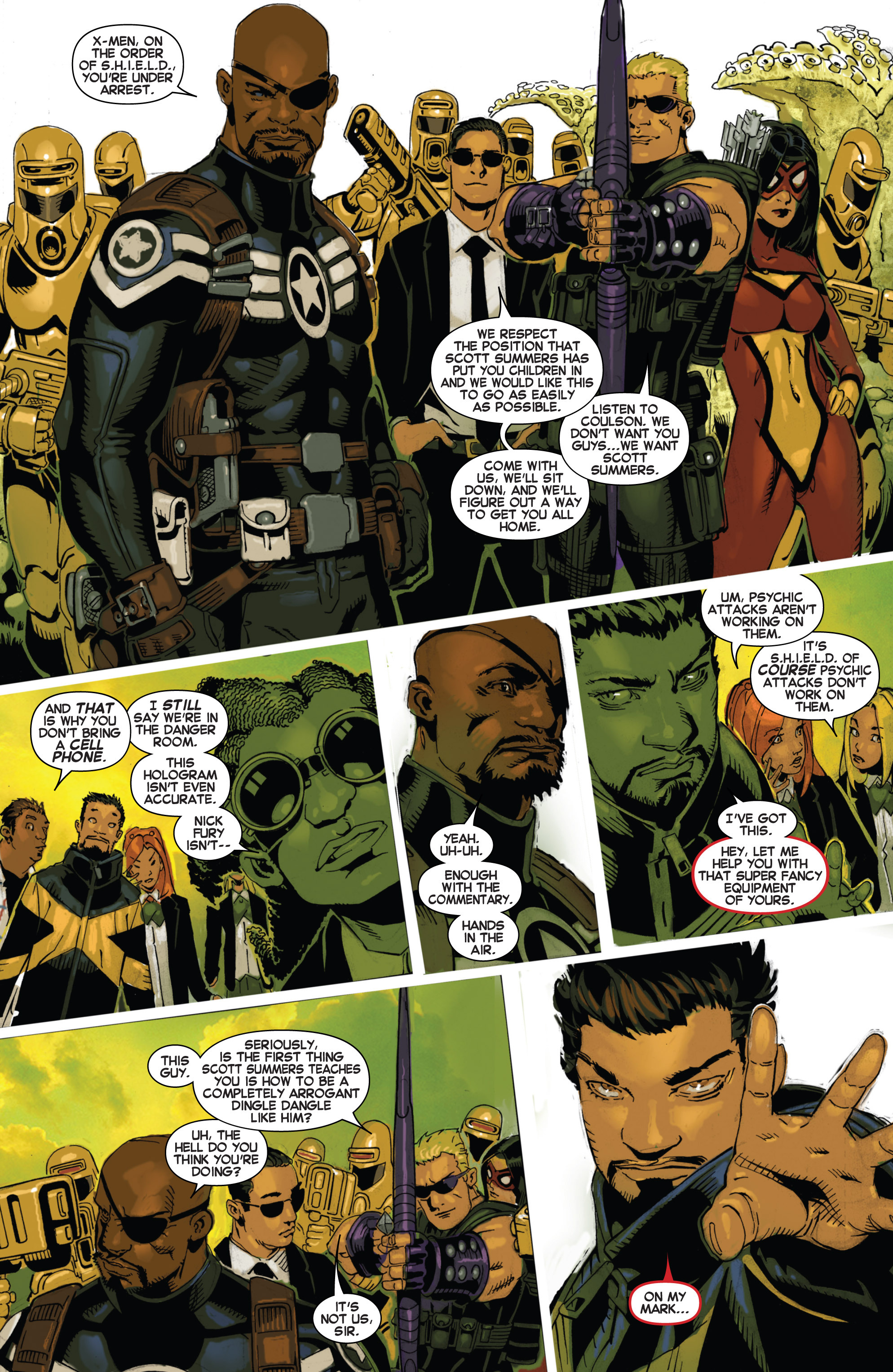 Read online Uncanny X-Men (2013) comic -  Issue #17 - 16