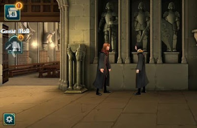 Energy Point Locations, Harry Potter, Hogwarts Mystery, Great Hallway