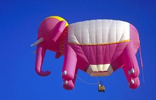 воздушный шар слон