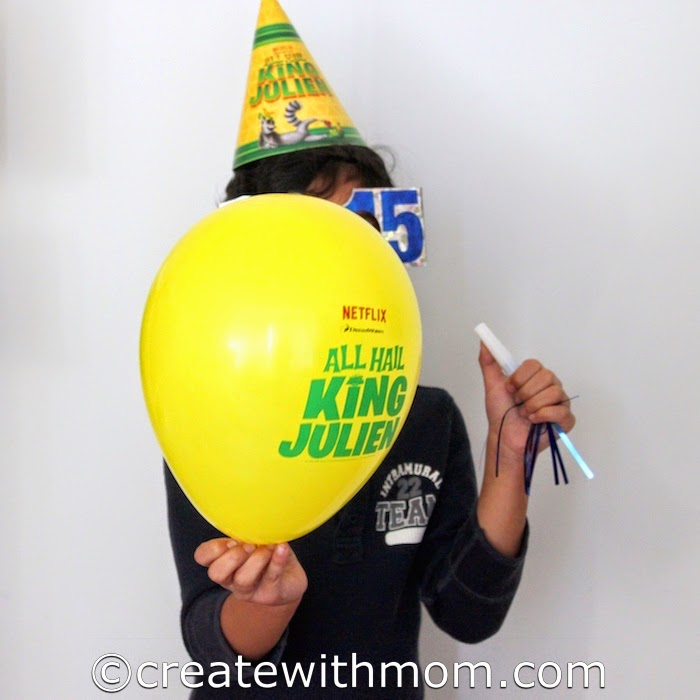 Create With Mom All Hail King Julien Party