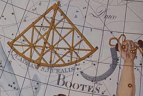 antiga constelação de Quadrans Muralis