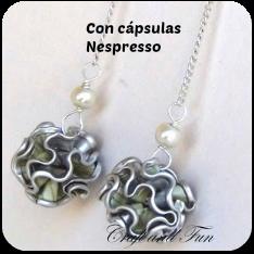 Bisutería con cápsulas Nespresso