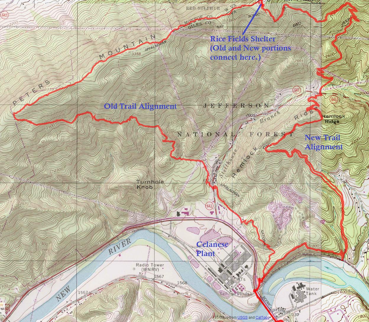Wandering Virginia: Appalachian Trail Reroute Hike ...