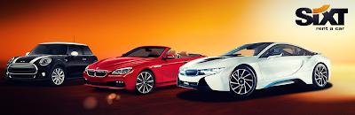 Voitures agences Sixt Mini, BMW coupé cabriolet