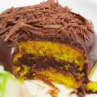 Bolo de cenoura com cobertura de Nutella: Fácil de fazer e