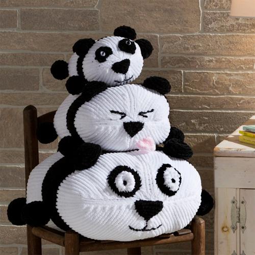 Panda Stack - Free Pattern